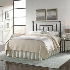 Headboards And Beds Fashion Bed Group Sheridan King Size Metal Headboard With Squared