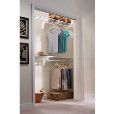 ez shelf 12 u0027 closet organizer kit up to 12 2 u0027 of hanging and