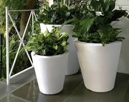 crescent garden dot planters trudrop self watering system