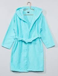 robe de chambre fille 12 ans peignoir fille pas cher peignoir capuche mode fille 4 12 ans kiabi