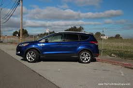Ford Escape Length - review 2013 ford escape titanium take two video the truth