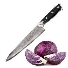 ebay kitchen knives bruntmor tokuso japanese damascus 8 u2033 chef u0027s knife vg10 razor sharp