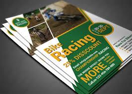 dafont freshman bike racing flyer by afzaal graphics thehungryjpeg com