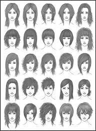 Emo Hairstyles Drawings by Women U0027s Hair Set 2 By Dark Sheikah On Deviantart