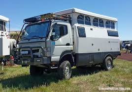 mitsubishi fuso 4x4 expedition vehicle 2016 overland expo west the essential overlanding show
