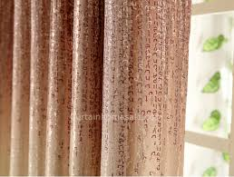 Ombre Window Curtains Window Curtains In Gold Color Of Ombre Visual Feeling