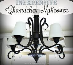 Chandelier Philippines Simple U0026 Inexpensive Chandelier Makeover Ask Anna