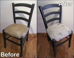 Recover Chair Basic Dining Room Chair Seat Recover Harts Fabric Sew Your