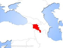 armenia on world map where is armenia located on the world map