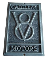 cadillac v8 car badge classic car design classic car