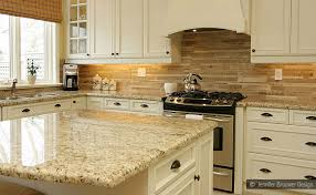 kitchen countertop and backsplash ideas subway travertine mosaic backsplash tile in this kitchen