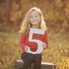 photography props age signs wooden numbers for children s photo props z create design