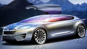 subaru concept cars subaru hybrid tourer concept picture 27042