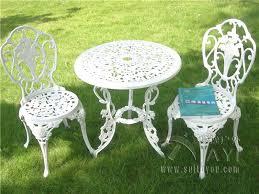 White Metal Patio Chairs 40 Design Ideas White Metal Patio Furniture Furniture Design Ideas