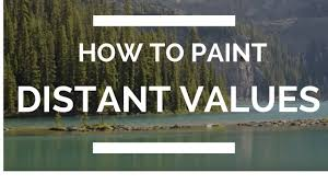 how to paint distance values youtube
