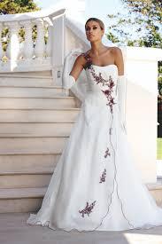 brautkleid wei rot ladybird wedding dress style 33000 ivory burgundy silver wedding