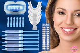 teeth whitening kit with led light ivory smiles teeth whitening home kit