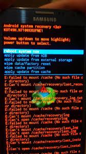 error on recovery u003e e failed mount u2026 android development