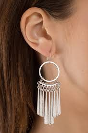 statement earrings tribal skirt silver statement earrings 5 tobi us