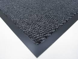 Black Kitchen Mat Rugs Medium Grey Black Non Slip Door Mat Rubber Backed Runner Barrier