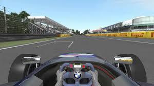 formula bmw sim racing formula bmw monza rf2 youtube