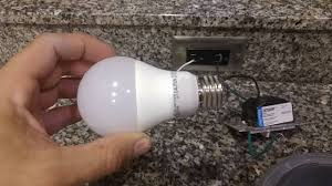 do you need special light bulbs for dimmer switches non led dimmer switch with non dimmable led bulb youtube
