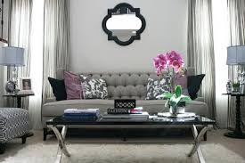 Living Room Ideas With Gray Sofa N This Room The Light Grey Walls Sofa And Side Ls Receive A