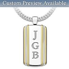 Dog Tag Necklace Custom Necklace Always My Grandson Personalized Dog Tag Pendant Necklace