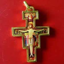 san damiano crucifix holy christianity cross crucifix of san damiano pendant