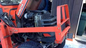 the kubota has an oil leak time for a trip to the tractor dr