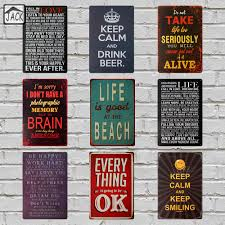 Home Decor Signs And Plaques by Online Get Cheap Beach Decor Signs Aliexpress Com Alibaba Group