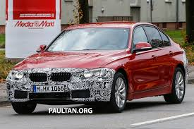 spyshots f30 bmw 3 series lci snapped again