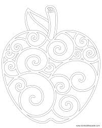 don u0027t eat the paste apple coloring page