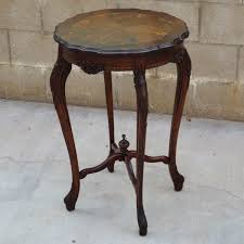 Antique Accent Table Pretty Antique Accent Tables And Furniture From Silver Wood White