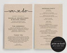 program for wedding ceremony template byron printable wedding order of service template wedding