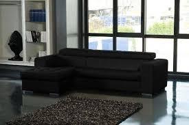 canapé lit cuir noir canape lit cuir center maison design wiblia com