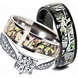 camo wedding bands his and hers camo wedding rings set his and hers 3 rings set sterling silver