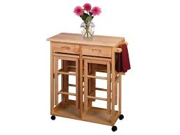 Rectangular Drop Leaf Kitchen Table by Rolling Oak Kitchen Island Tabletop With Stools Leaf