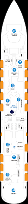 layout denah cafe deck plans quantum of the seas royal caribbean cruises