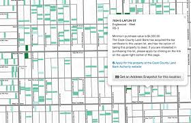 Cook County Illinois Map by Cook County Land Bank Authority Launches Massive Sale Of Vacant