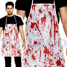 Zombie Chef Halloween Costume Chef Fancy Dress Ebay