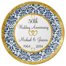 anniversary plates 50th anniversary parents 50th anniversary gifts on zazzle