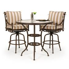 High Bistro Table Set Outdoor Outdoor Pub Style Table And Chairs 45k8 Cnxconsortium Org