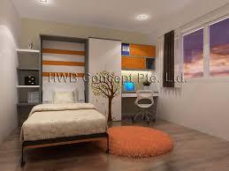 sofa bunk beds hdb hub showflats hidden children bed children wall bed