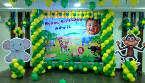 interior design amazing jungle theme birthday decorations
