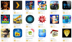 get 220 in paid android apps and games for free from amazon