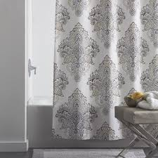 Luxury Shower Curtain White Cotton Shower Curtains The Company Store