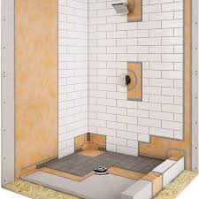 shower system schluter com kerdi shower kit