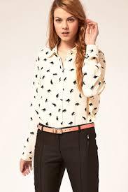 elephant blouse elephant print white shirt womens shirts blouses shirts