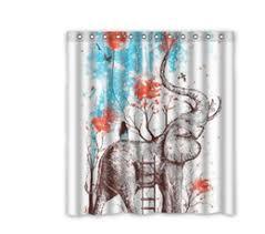 36 X 72 Shower Curtain Elephant Shower Curtains Online Elephant Shower Curtains For Sale
